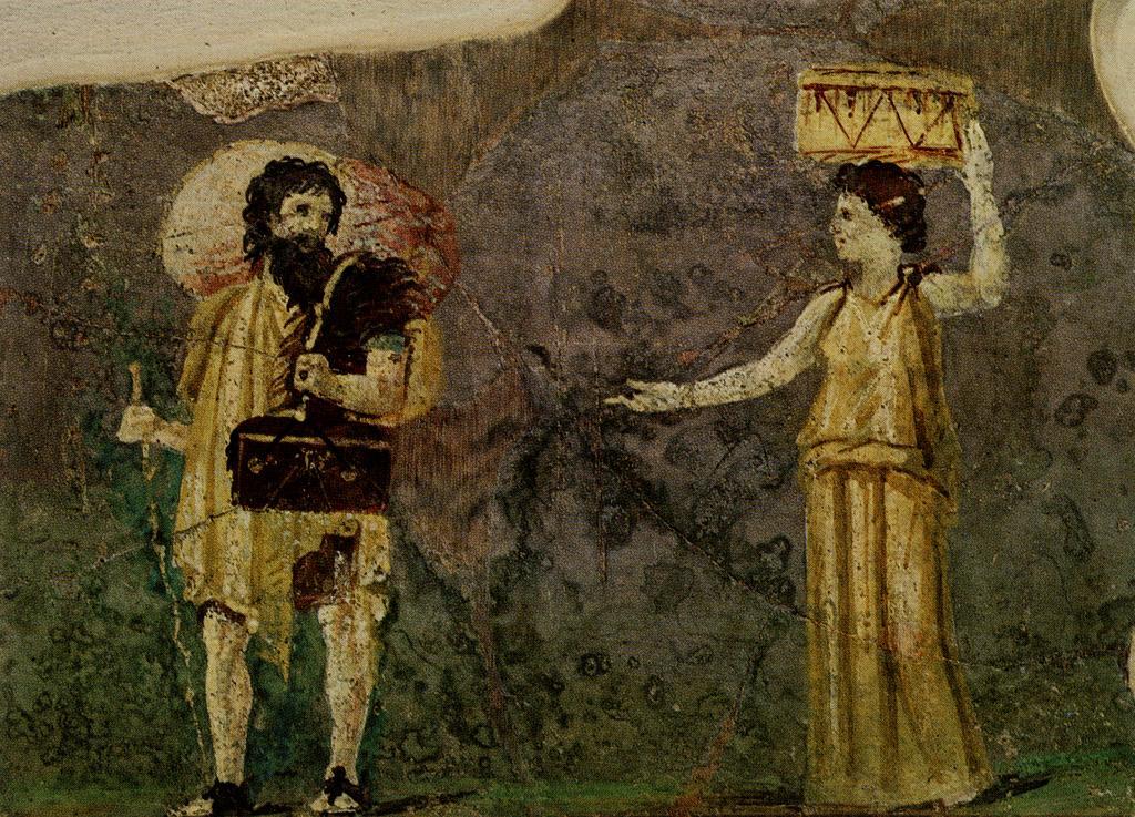 By Unknown - Villa Farnesina, Museo delle Terme, Rome, Public Domain